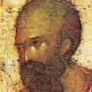 Иконостас Благовещенского собора Московского кремля. Апостол Павел. Деталь. 1405. Феофан Грек.jpg